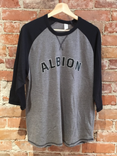 Albion 3 Quarter Black T-Shirt