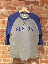 Albion 3 Quarter Blue T-Shirt