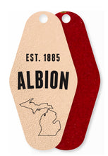 Albion Leather Keychain