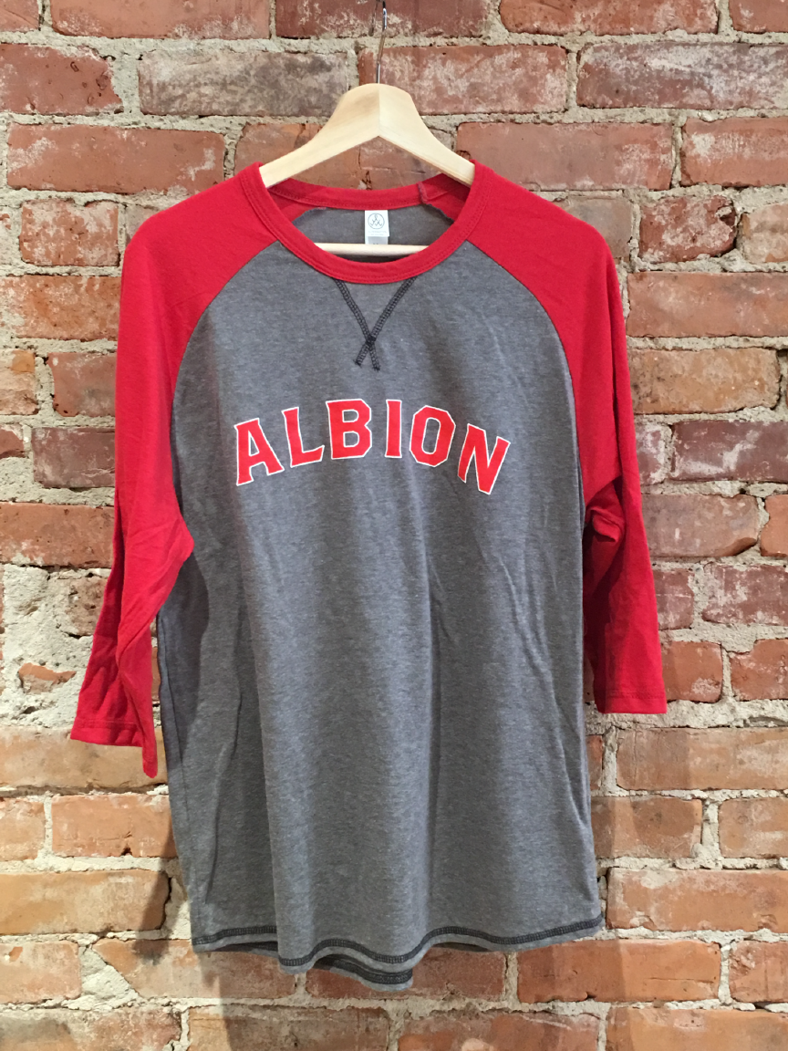 Albion 3 Quarter Red T-Shirt