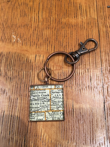 Albion Map Keychain - Chella's Collection