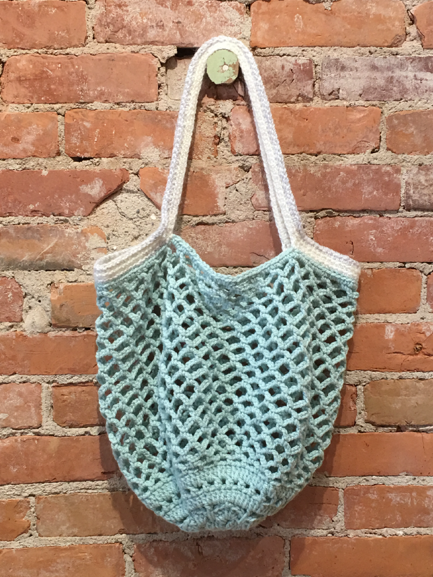 Crochet Tote Bag by Lea Rakistaba
