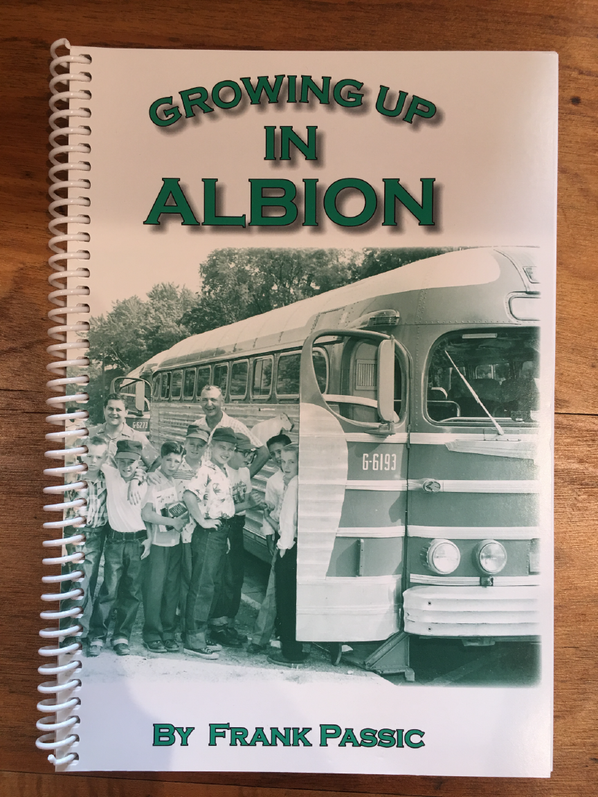 Growing Up In Albion Book by Frank Passic