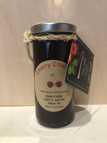 Cherry Chutney from EBMY Farm