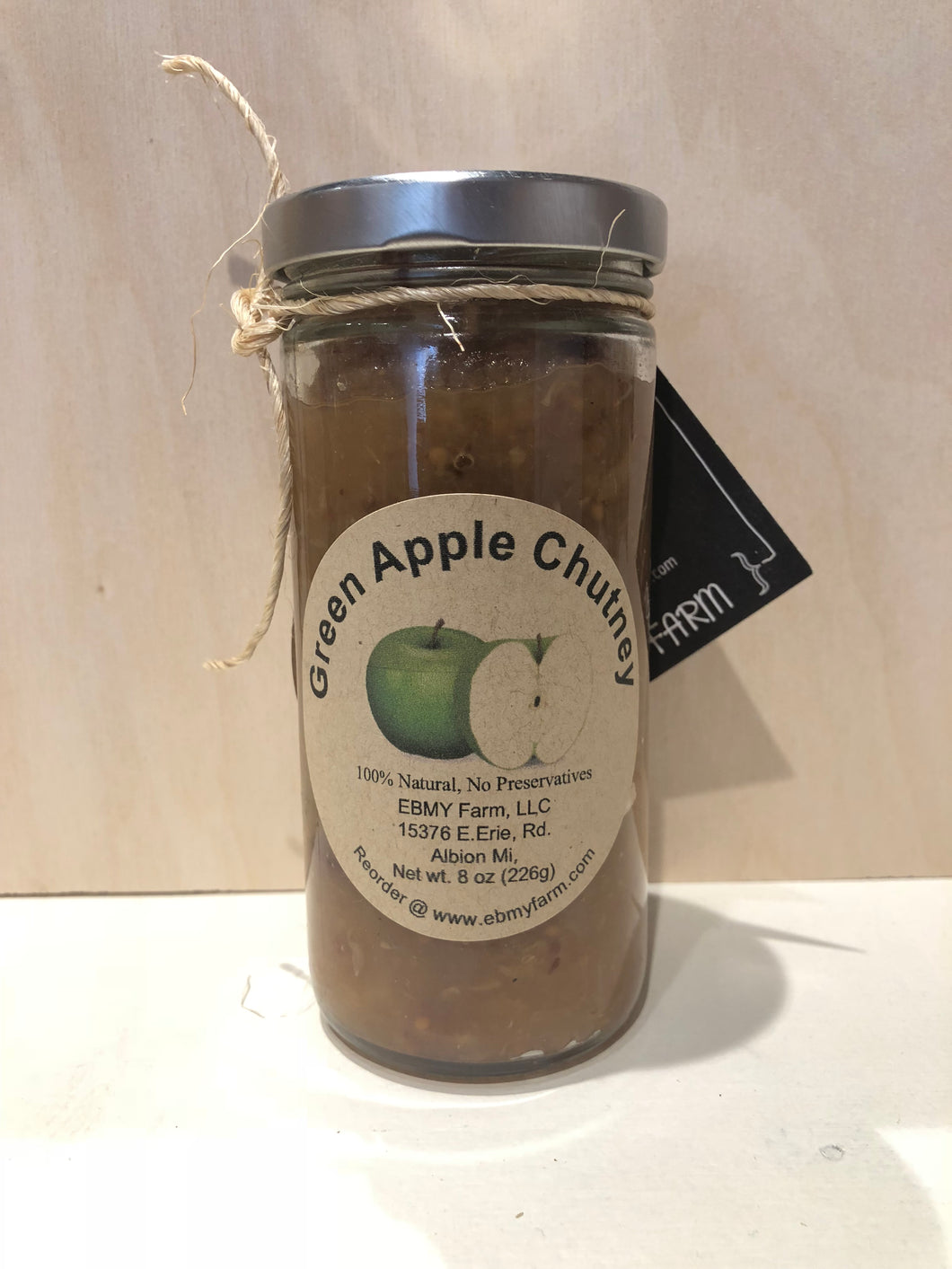 Green Apple Chutney from EBMY Farm