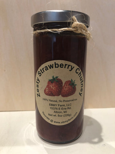Strawberry Chutney from EBMY Farm