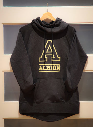 Tri-Blend Fleece Hoodie for Women - Albion College 'A'