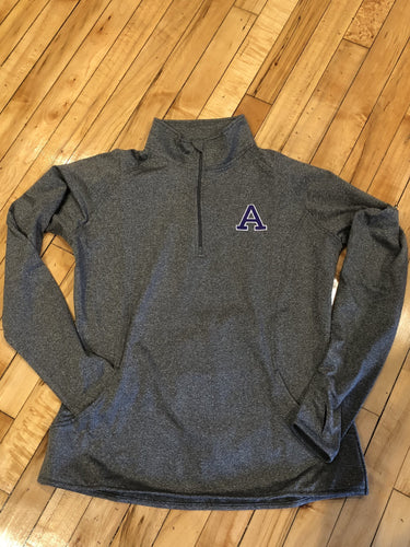 Performance Pullover Jacket for Women - 1/4 Zip Embroidered Albion College A
