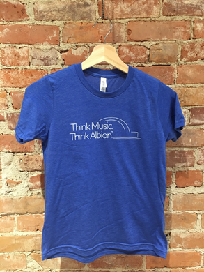 Albion-Think Music. Think Albion. Youth Shirt