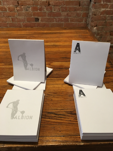 Albion Note Pads - All varieties