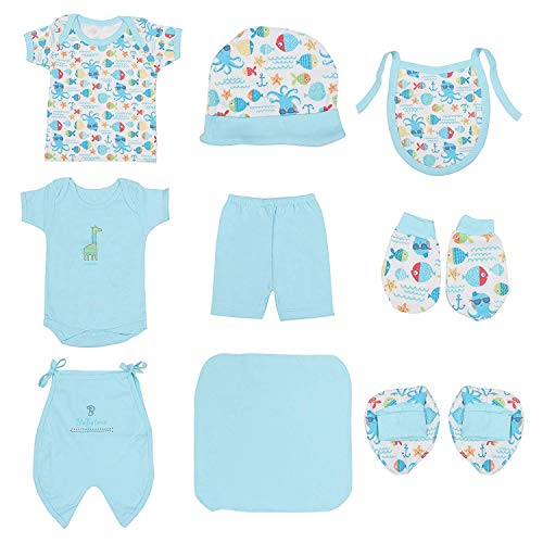 9155ca34e465 New Born Baby Dress Pure Cotton Jabla Clothing with Nappies (0-6 Months) ...
