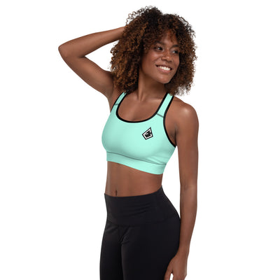 ENTROO ORIGINAL CLASSIC edition - Mint padded sports bra - ENTROO