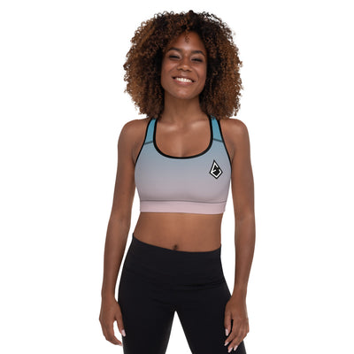 Serpentine Padded Sports Bra - ENTROO