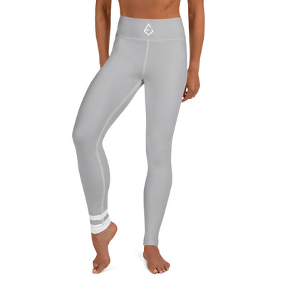 Light Grey Yoga Leggings - ENTROO