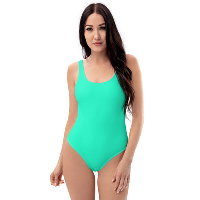 Mint one-piece swimsuit - ENTROO