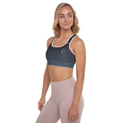Chrysocolla Padded Sports Bra - ENTROO