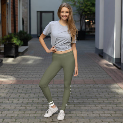 ENTROO Leggings ORIGINAL CLASSIC Olive Green Edition - ENTROO