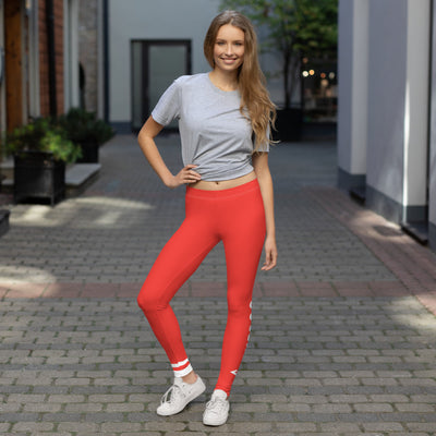 ENTROO ORIGINAL CLASSIC edition - Red leggings - ENTROO