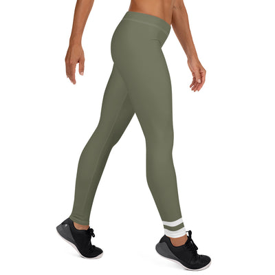 ENTROO ORIGINAL CLASSIC edition - Olive green leggings - ENTROO