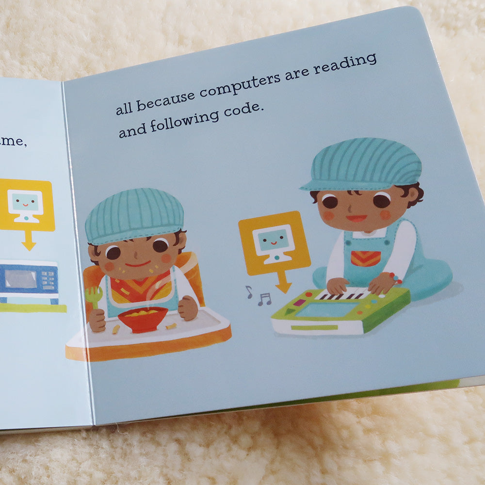 Baby Loves Coding Book Inside