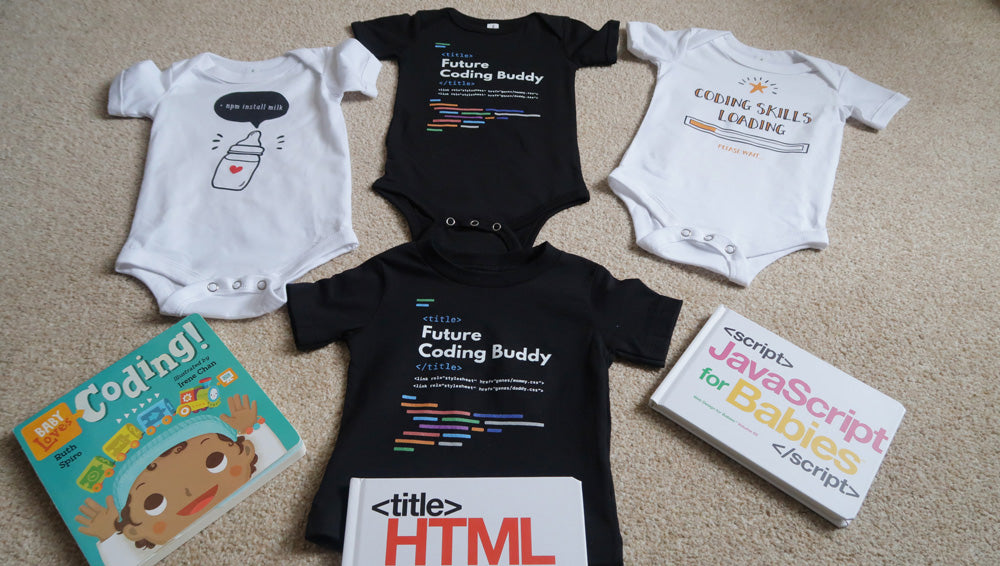 Gift Ideas For Developer Programmer Babies - Baby Clothing - Made4Dev.com