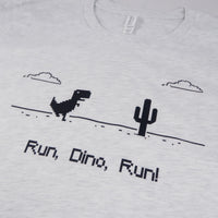 Chrome Dino Game T-Shirt for Developers