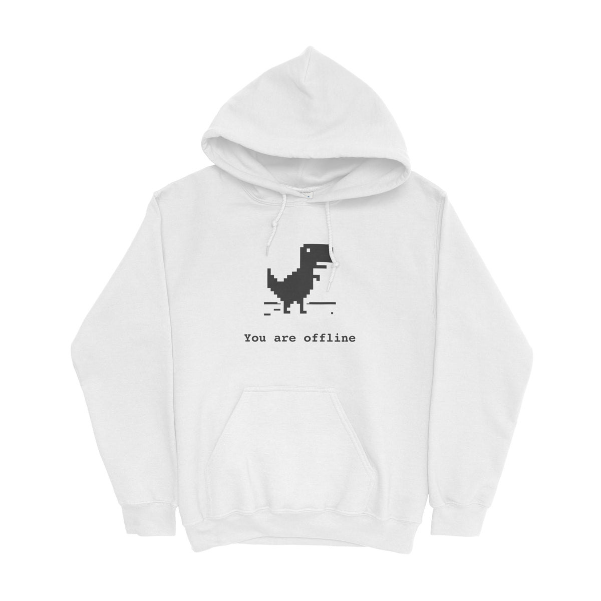 You Are Offline Hoodie for Developers