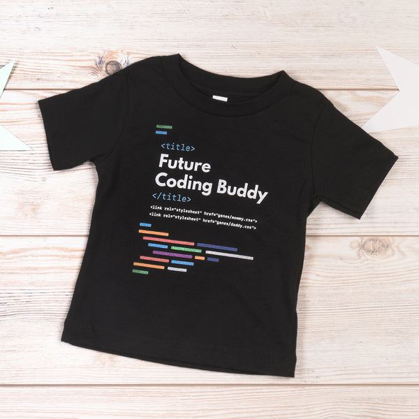 Future Coding Buddy Baby T-shirt