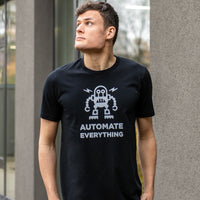 Automate Everything T-Shirt for Developers - Programmer Tees From Made4Dev.com
