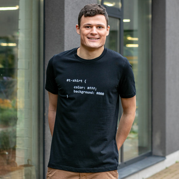 CSS Code T-Shirt for Developers - Programmer Tees From Made4Dev.com