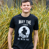 May The --Force Be With You T-Shirt for Developers - Programmer Tees From Made4Dev.com