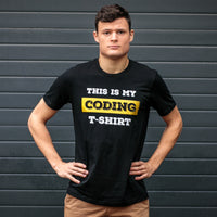 My Coding T-shirt for Developers - Programmer Tees From Made4Dev.com