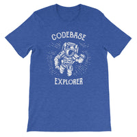 Codebase Explorer T-Shirt for Developers - Programming Tees From Made4Dev.com