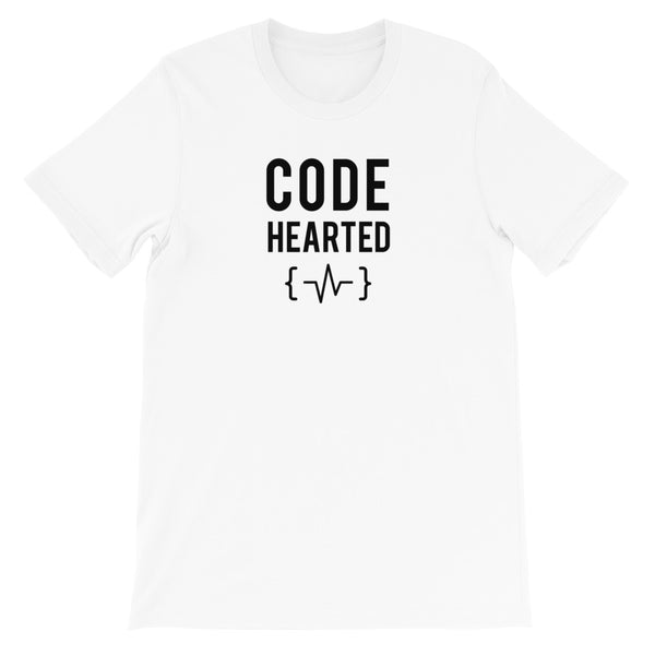 Code Hearted T-shirt for Developers