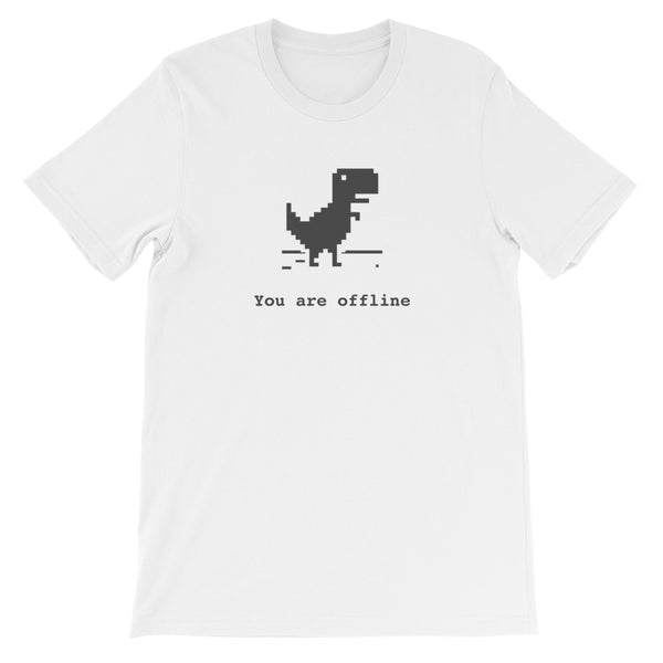 You Are Offline T-Shirt for Developers