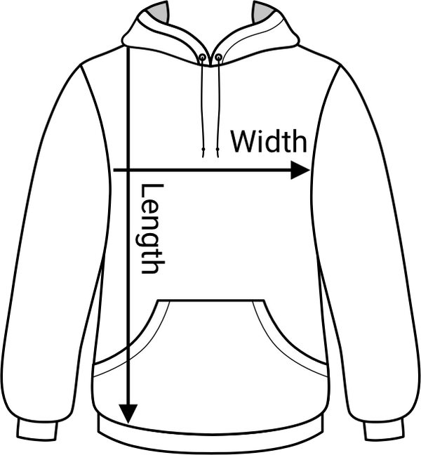 made4dev hoodie measurement