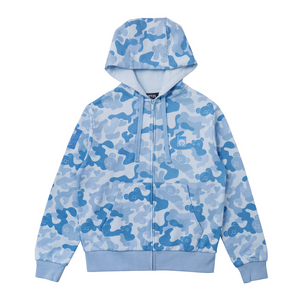 [BT21] Zip Up Camouflage Jacket