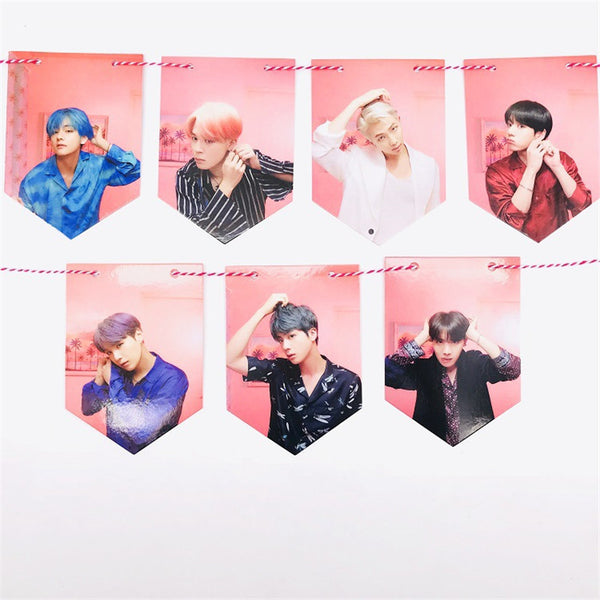 [BTS] Map Of The Soul: Persona ''Flag Poster''