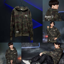Load image into Gallery viewer, [FILA X BTS] Project 7: Hoodie (Green)