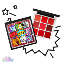 Load image into Gallery viewer, [BT21] VT Cosmetics ART IN LIP PALETTE 1g x 9 / 0.03oz x 9