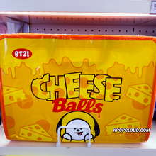 Load image into Gallery viewer, BT21 Official Zipper File Folder Snack Ver
