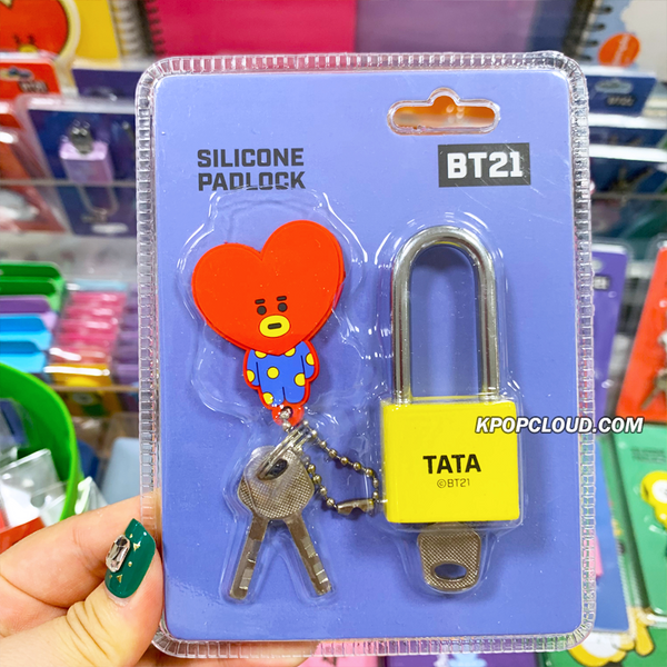 BT21 Official Silicone Padlock