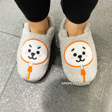 Load image into Gallery viewer, BT21 Official Boucle Slippers