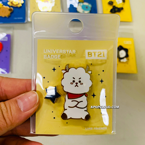BT21 Official ''Universtar'' Badge