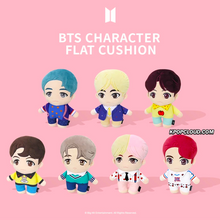 Load image into Gallery viewer, BTS OFFICIAL HOUSE OF BTS SEOUL MD – CHARACTER FLAT CUSHION