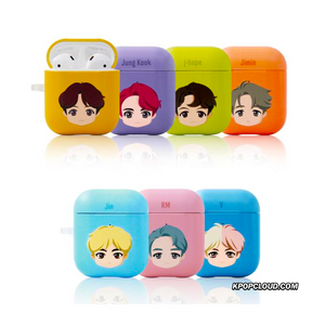 BTS OFFICIAL BASIC HERD HARD AIRPODS CASE