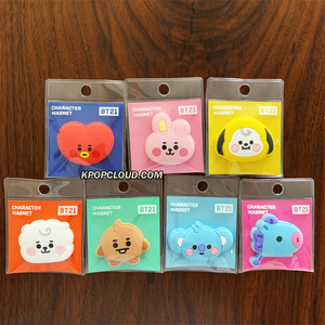 BT21 Official Silicon Magnet Baby Ver 7SET