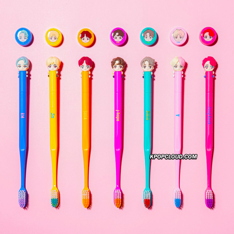 BTS OFFICIAL HOUSE OF BTS SEOUL MD – CHARACTER Toothbrush