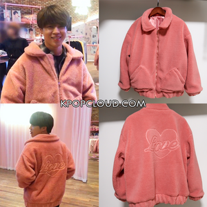 BTS Style ''Love'' Pink Jacket