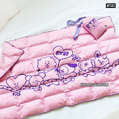 BT21 Official Padded Blanket